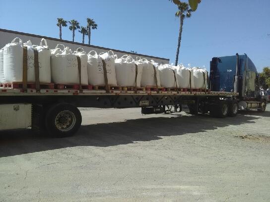 glassblast truck load